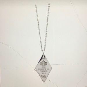 Tiffany & co Nike necklace